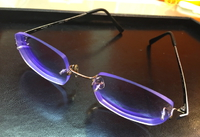 メガネが出来上がりました〜♪<きっと射撃に最高な眼鏡レンズ=ネオコントラスト>
