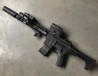 """おニューのトレポン(BCM MCMR 11.5"""" carbine)"""