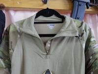 【お買い得】実物ブランドコンバットシャツ(Multicam)