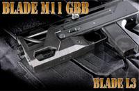 【逸品】BLADE M11 ガスブロサブマシンガン(予約受付中)