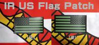 アメリカ製「IR 星条旗パッチ」入荷