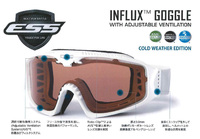 【予約受付中】ESS INFLUX GOGGLE[COLD WEATHER EDITION]
