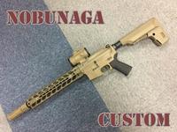 最新M4カスタム NOBUNAGA Custom
