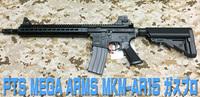 KSCのPTS MEGA ARMS MKM-AR15 ガスブロ