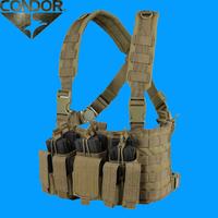 CONDOR Tacticalのアイデア次第で冬でも役立つチェストリグ