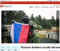 CNNでロシア軍侵攻嘘記事