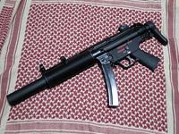 鉄砲紹介 (トレポン MP5SD6 編)