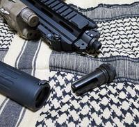 HK416をがんばる Part.5 (AAC Blackout 51T Flash Hider)