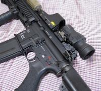 NBORDE HK416D 盛り付け!