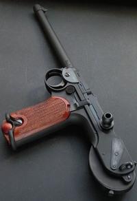CAW ボーチャード・ピストル(HW樹脂製ダミーカート・モデルガン)