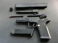 EMG SAI BLU Glock GBB 調整と実射