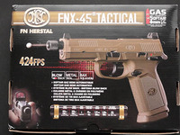 Cybergun FNX-45 Tactical GBB その1