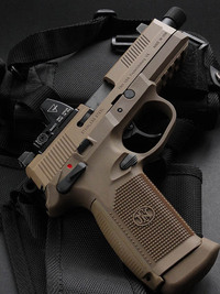 Cybergun FNX-45 Tactical GBB その2