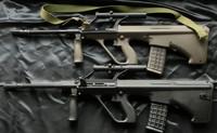 GHK AUG-A2 GBB マルイ電動ガンAUG-A1との比較