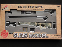 Xu Lun 1:6 Die-cast Metal L96 Gun Model (ACU)