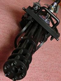 LittleArmory LA022 M134ミニガンタイプ 比較