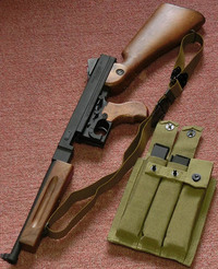 CyberGun M1A1 Thompson GBB チャンバー分解