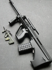 Blackcat Mini Model Gun AUG Black