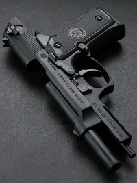 Blackcat Mini Model Gun M92F (Shell Eject)