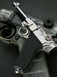 Blackcat Mini Model Gun P08