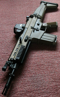 CyberGun FN SCAR-H GBBR (Mk17 JPversion) FDE 比較&分解