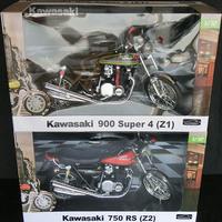 スカイネット 1/12 完成品バイク Kawasaki ZⅠ&ZⅡ