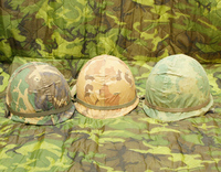 ベトナム戦時 M1ヘルメット入荷