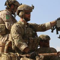 シリア派遣のアメリカ軍事顧問