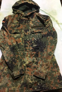 ドイツ連邦軍戦闘服 見比べ5