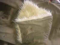 日本軍外套用防寒襟