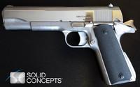 3Dプリントされた銃が美しい