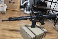 次世代M4 AR15風カスタム 色々変更