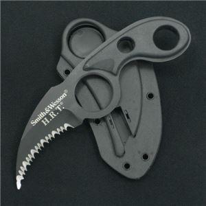 S&W(スミス&ウエッソン)  H.R.T. ブラック ネックナイフ