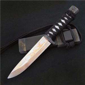 佐治武士 影法師150 有色鮫皮紐巻 和式ナイフ