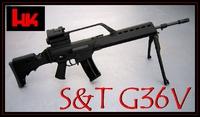S&T電動ブローバックG36V(G36A1)徹底レビュー&分解メンテ720HD(UMAREX)
