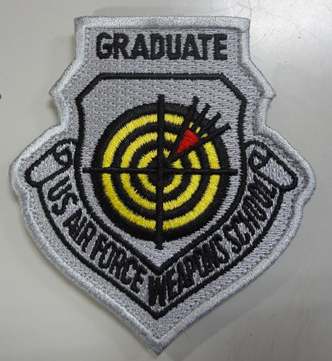 米空軍兵器学校卒業資格パッチ