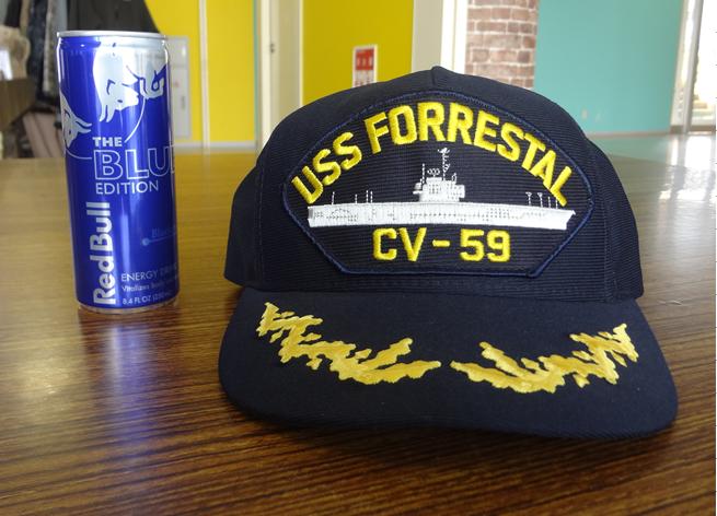米空母フォレスタル艦船キャップ