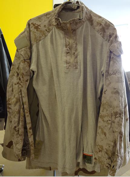米海兵隊デザートタイプコンバットシャッツ