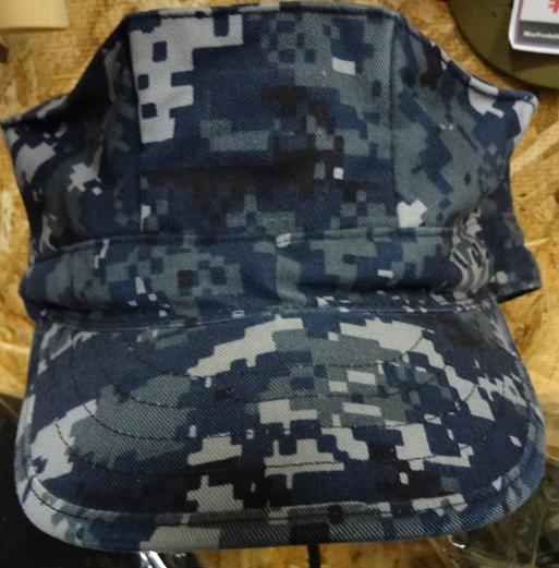 米海軍デジタル八角ブルーキャップ