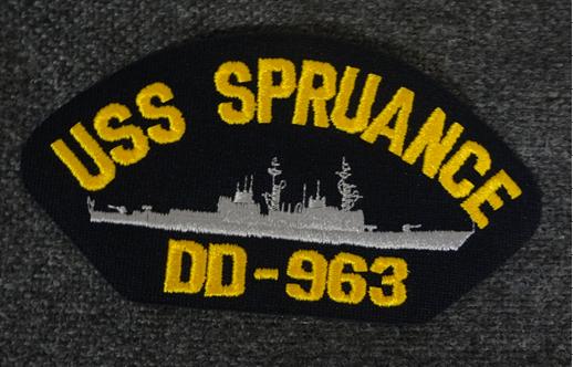 米海軍・潜水艦スプルアンスのパッチ