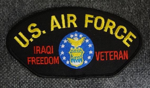 米空軍イラク戦掃討作戦ボールパッチ