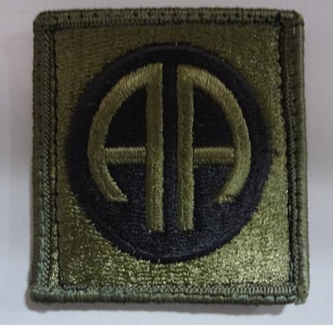 米陸軍第82空挺師団のパッチ