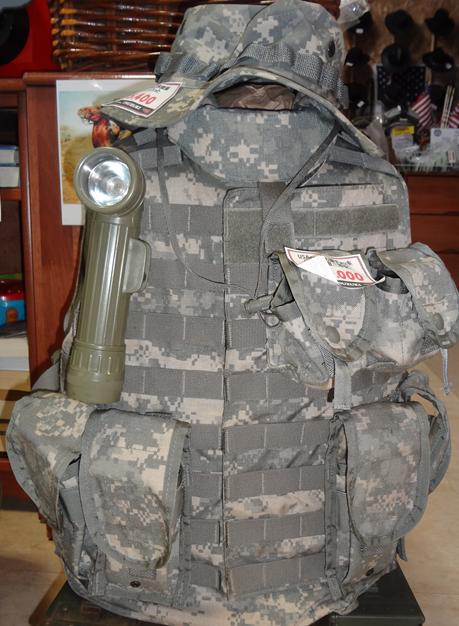 米陸軍ACU防弾ベスト(実戦用)