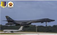 戦略爆撃機「ボーン」の空中、飛翔スタイル・・・