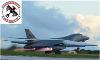 戦略爆撃機ボーン(B-one)の緊急離陸はエ・・・