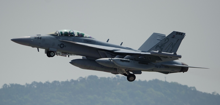 アメリカ帽子と軍用品:EA-18G グラウラー電子戦索敵攻撃機