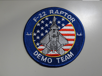 F-22Aデモチームパッチ
