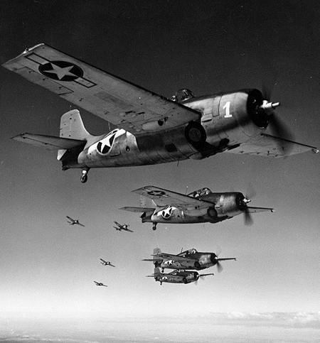 F-4F-4ワイルドキャットの編隊