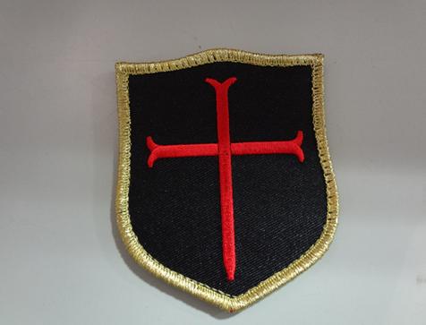 US Navy Seals レッドチーム十字軍ベルクロパッチ