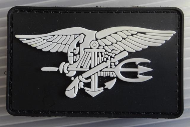 US Navy Seals ベルクロラバーパッチ